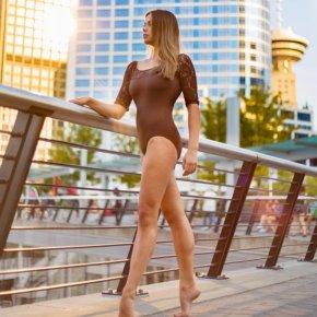 Barefoot ballerina