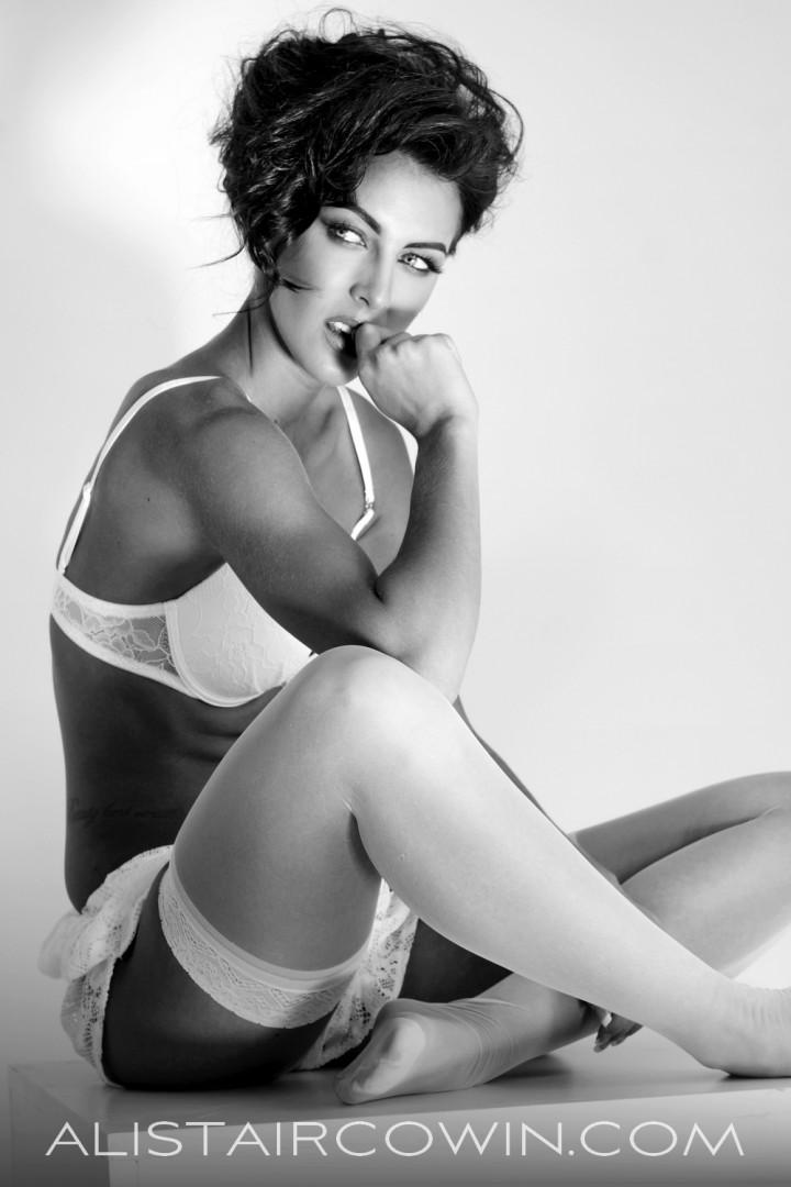 Shot for model's Portfolio