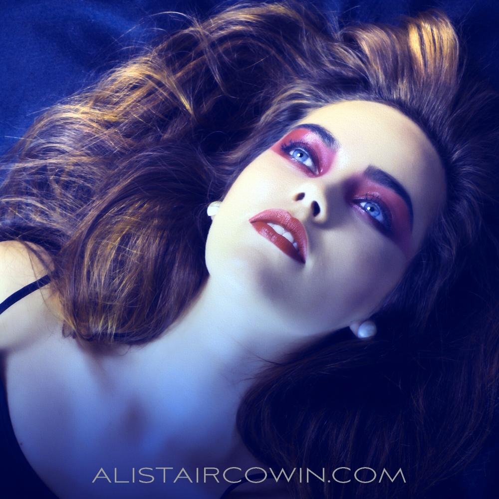 Image shot in Studio for model's portfolio