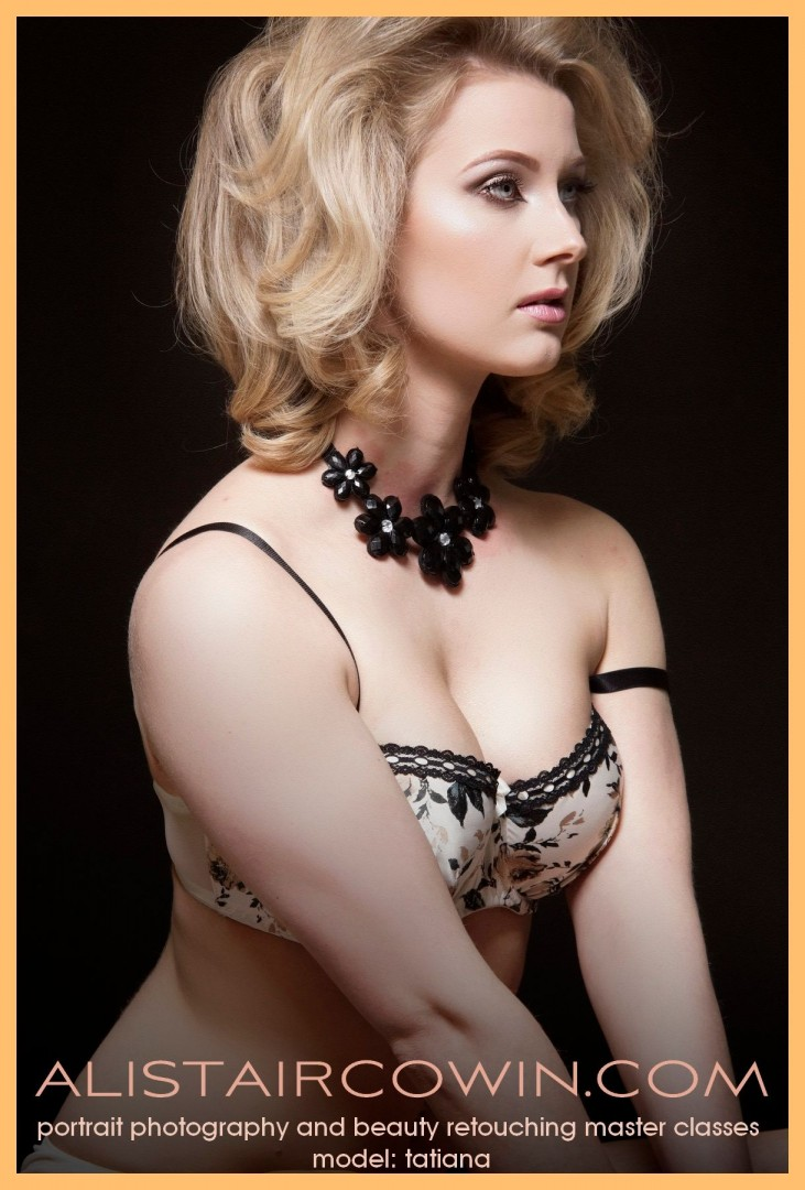 "Studio shoot for Tatiana's Portfolio and Alistair Cowin's ""Beauty Book 2016."". Model: Tatiana  Hair & Makeup:  Hannah Louise Field"