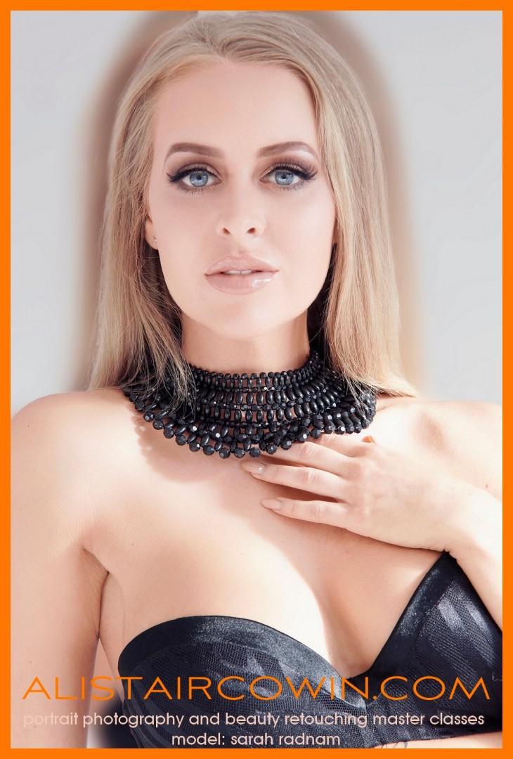 "Studio shoot for Sarah's Portfolio and Alistair Cowin's ""Beauty Book 2016."". Model: Tatiana  Hair & Makeup:  Hannah Louise Field"