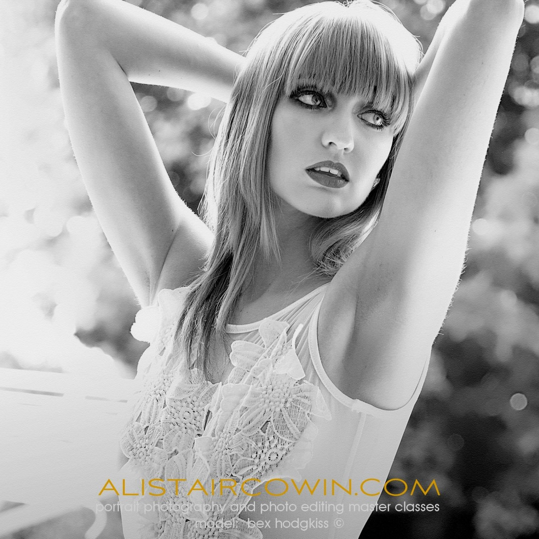 Photographed for Alistair Cowin's Beauty Books and the model's Portfolio. <br /> Model: Rebecca Hodgkiss   MUA: Hannah Field