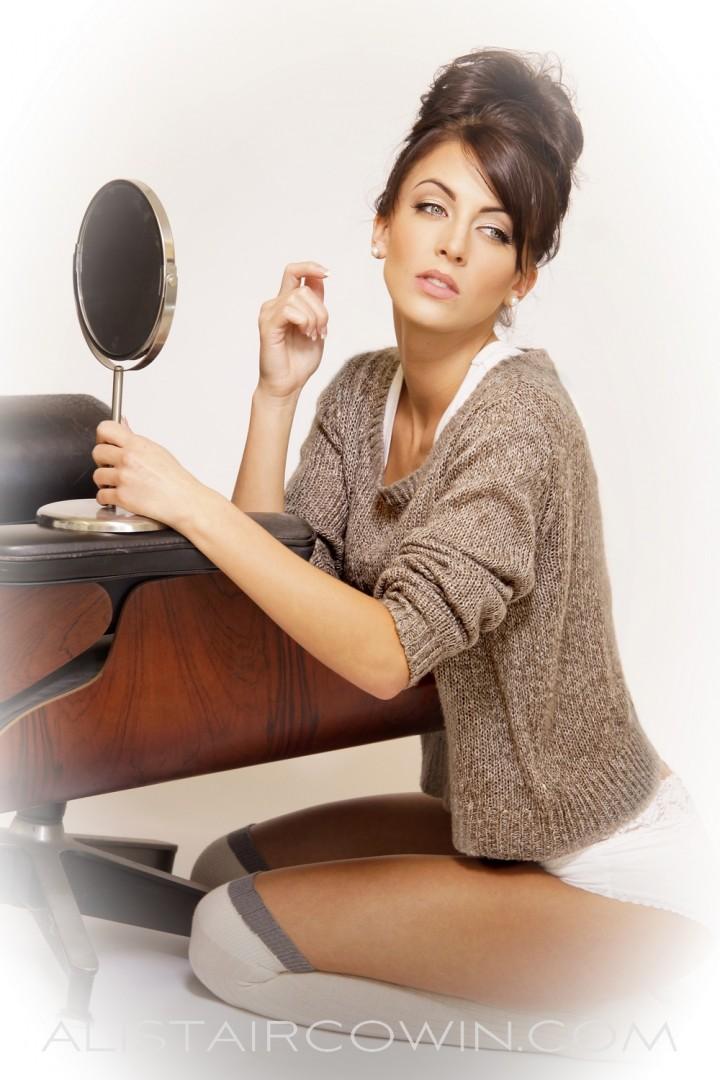 Studio shoot for model's Portfolio<br /> Makeup & Hair: Chloe Bradley