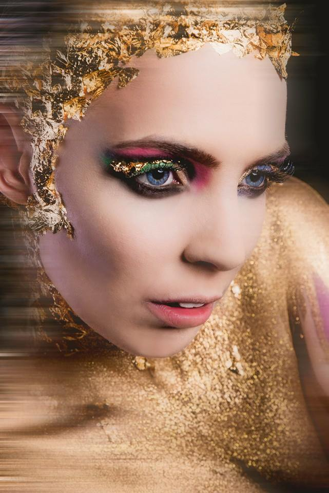Make up and hair by Sammy Carpenter