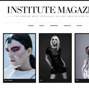Fashion images with Vic Chowhan published in