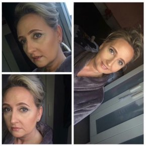 Mature, bridal, evening makeup