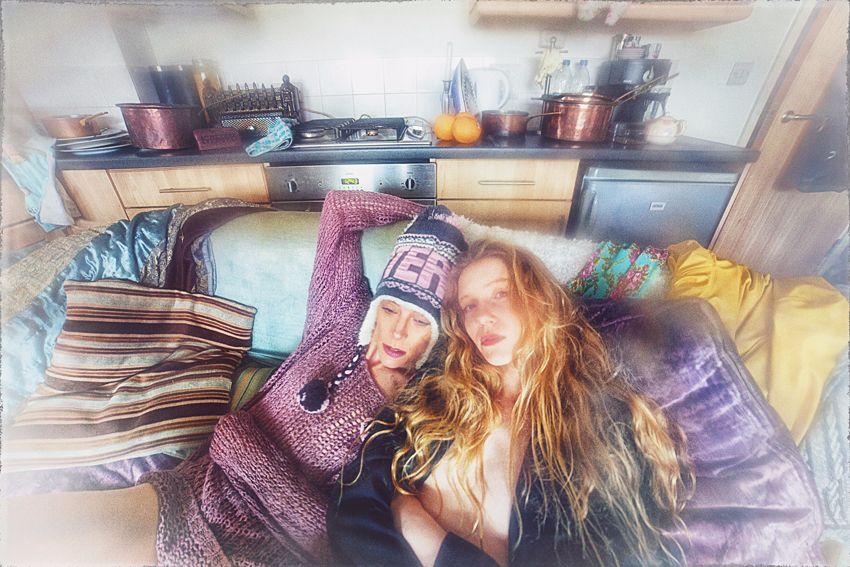 models: Marmalade and Lulu Lockhart