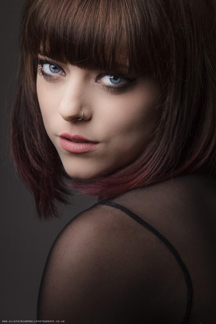 Studio Portrait with Yasmin Hull.