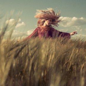 As free as my hair.......