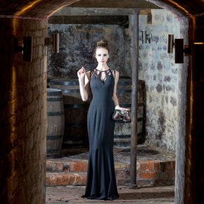 Black Dress in the Cellar